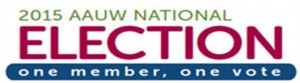 AAUW Election Logo