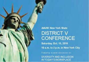 AAUW NYS District V Conference